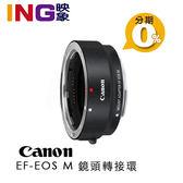 平輸貨 Canon EF-EOS M 轉接環 鏡頭轉接器 不含腳座 ( EOS M轉接EF及EF-S鏡頭)