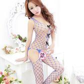 性感情趣內衣女夏露乳連身連體網衣大網眼大碼漁網襪誘惑吊帶絲襪