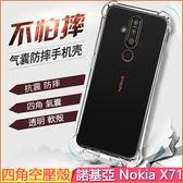四角空壓殼 諾基亞 Nokia X71 手機殼 防摔 TA-1172 手機套 軟殼 抗震 Nokiax71 保護套 保護殼 透明殼