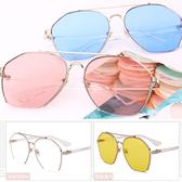 ※現貨 個性切邊多彩防藍光眼鏡 8色【VM47048】