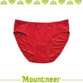 【Mountneer 山林 女 透氣三角內褲《紅色》】11K80-37/透氣內褲/排汗內褲/三角褲★滿額送