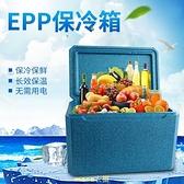 好樂康品牌保溫櫃EPP泡沫櫃宅配保鮮櫃配送冷藏櫃新50升藍 現貨快出