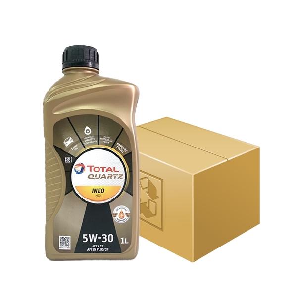 TOTAL QUARTZ 5W30 MC3 合成機油 (18罐/整箱)