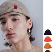 包頭潮牌薄款情侶秋冬季嘻哈男女流氓瓜皮 INS復古針織冷毛線帽子  提拉米蘇