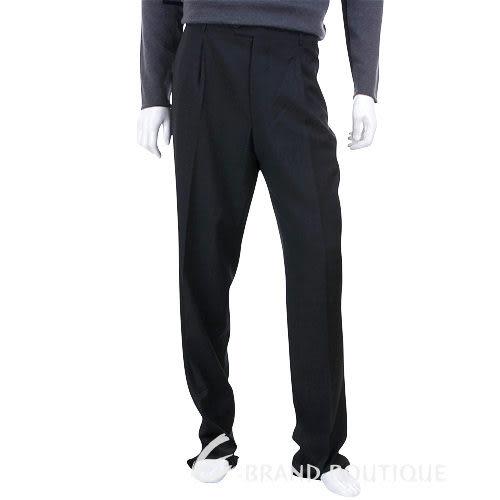 BOSS 抓褶西裝褲(黑灰色) 0511079-58