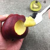 寶寶刮蘋果吃的勺子不銹鋼嬰兒輔食挖泥勺