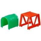 《 TAKARA TOMY 》小車創意軌道組D-13 橋與隧道  / JOYBUS玩具百貨