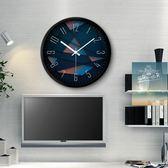 降價兩天-鐘錶掛鐘客廳創意現代時鐘石英鐘錶掛錶臥室靜音個性大號壁鐘wy