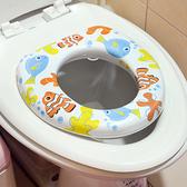 【小兒彩色馬桶軟墊】馬桶蓋 馬桶座 馬桶軟墊 輔助便座 衛生馬桶墊 幼兒 兒童 51115 [百貨通]