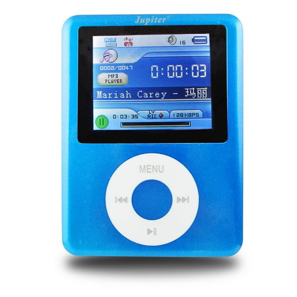 【B1845】Jupiter胖蘋果 彩色螢幕MP4隨身聽(內建8GB記憶體)(送5大好禮)