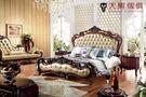 【大熊傢俱】RE807 新古典床   歐式古典 床架 歐式 皮床 雙人床台 新古典  雙人床 五尺床 六尺床
