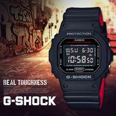 G-SHOCK DW-5600HR-1 CASIO 卡西歐 手錶 DW-5600HR-1DR 熱賣中!