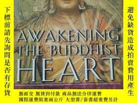 二手書博民逛書店英文原版罕見Awakening the Buddhist Hea