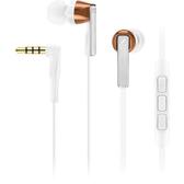 【台中平價鋪】全新 德國 聲海 Sennheiser CX 5.00G 耳道式耳機麥可風 入耳式耳機 - 白色