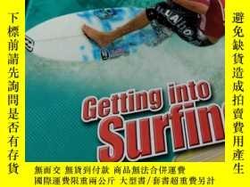 二手書博民逛書店Getting罕見into SurfingY339881