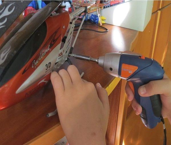 新竹【超人3C】4.8v 電動起子 電動螺絲起子 充電電鑽 電動起子手持電鑽電動工具 0030023-3S3