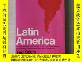 二手書博民逛書店Latin罕見America a history history of Latin America 拉丁美洲史 英