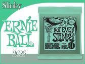 【小麥老師樂器館】電吉他弦 Ernie Ball 旗艦店 12-56 鍍鎳 2626【T222】公司貨