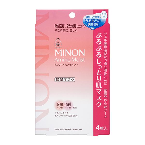 MINON 蜜濃水潤保濕修護面膜(22ml x 4枚)