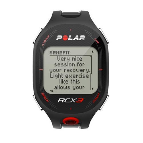 Polar RCX3M 男用黑色二鐵心率錶 防水30米 (兩色可選)