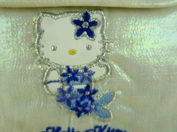 【震撼精品百貨】Hello Kitty 凱蒂貓-凱蒂貓皮夾/短夾-銀白色