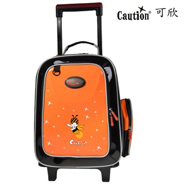 兒童 學生 書包可拆式拉桿 Caution可欣 1085 陽光橘 (福利品)