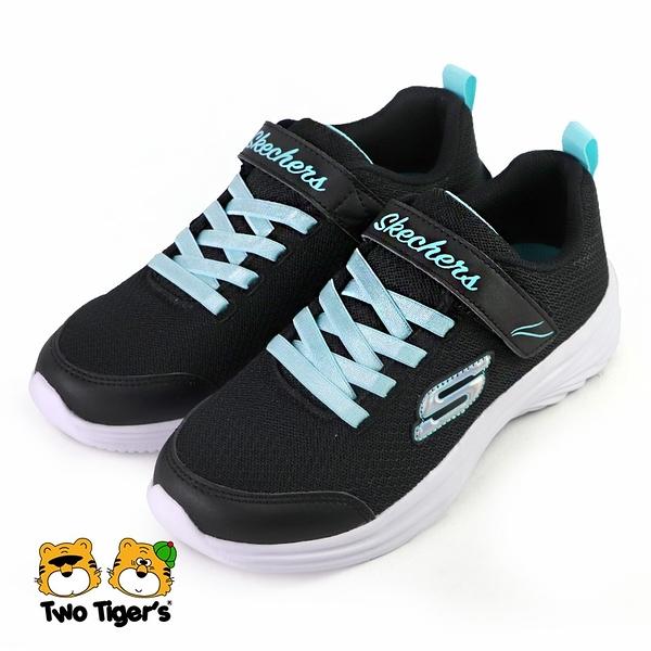 SKECHERS DREAMY DANCER 運動鞋 中大童 黑色 NO.R6499
