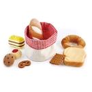 【德國 Hape】精緻木玩 - 幼兒版早餐麵包籃