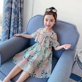 兒童連身裙 女童網紅連身裙夏裝2020夏季新款兒童超洋氣女孩裙子童裝公主裙潮 小宅女