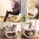 四季貓咪窩貓舍貓屋房子別墅封閉式貓凳子窩
