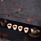 陸寶茶器 岩藏灼金-意趣 一壺四杯一茶海 壺承 精緻臻品 典藏木盒