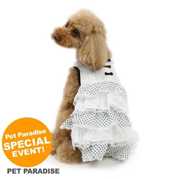 【PET PARADISE 寵物精品】Pretty Boutique 黑白蕾絲澎澎裙 (SS) 寵物用品 寵物衣服《SALE》