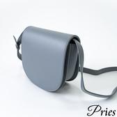 Pries【約會必備】號稱牛皮的小廢包 - 寧靜藍