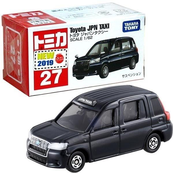 【 TOMICA 火柴盒小汽車 】TM027 Toyota JPN TAXI 豐田日本計程車╭★ JOYBUS玩具百貨