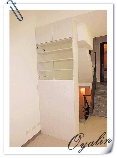 【歐雅系統家具】玻璃門設計隔間櫃