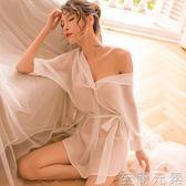 性感情趣騷內衣透明開襠雪紡襯衫睡衣誘惑OL秘書挑逗制服套裝激情 至簡元素