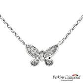 鑽石項鍊 PERKINS 伯金仕 Butterfly系列 0.17克拉項墜