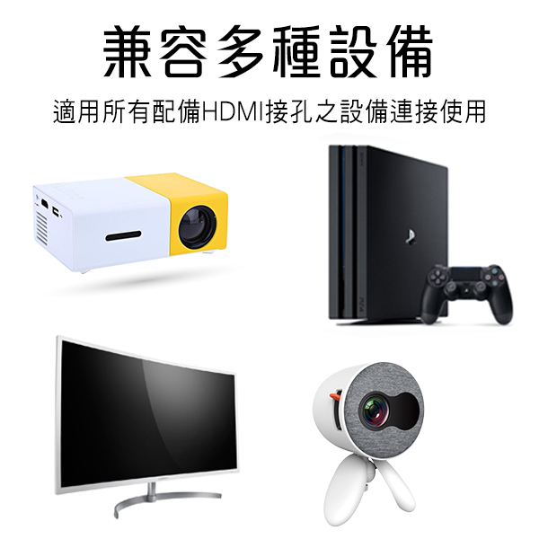【coni shop】HDMI公對公傳輸線 1米 現貨 當天出貨 4K高畫質 轉接大螢幕 HDMI2.0連接線 投影機 雙螢幕