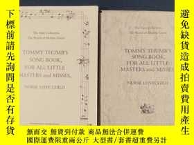 二手書博民逛書店TOMMY罕見THUMB`S SONG BOOK, FOR AL