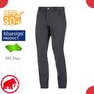 【MAMMUT 長毛象 男 Hiking pants 長褲《黑》】1022-00420/休閒運動褲/彈性透氣/防曬/輕量機能