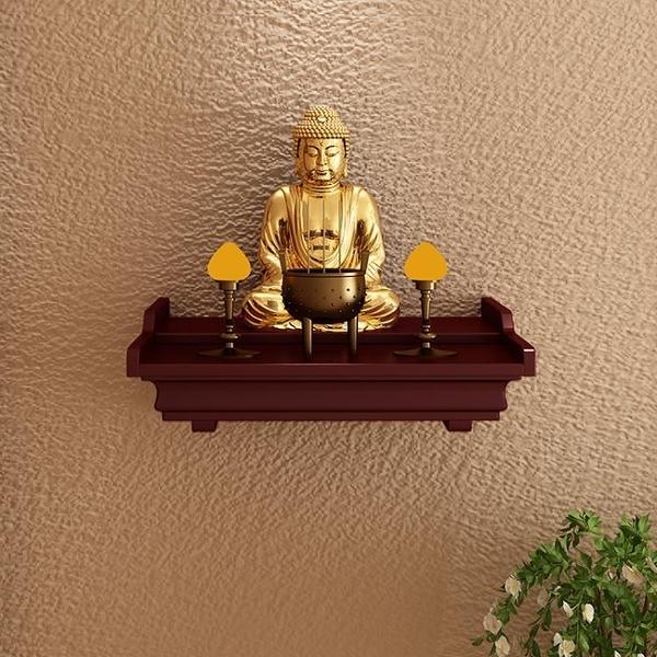 家用佛龕供奉財神臺