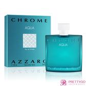 AZZARO chrome aqua 碧海鉻元素男性淡香水(100ml)-公司貨【美麗購】