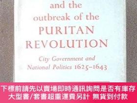 二手書博民逛書店London罕見And Outbreak Of Puritan RevolutionY255174 Valer