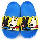 童鞋城堡-麗莎與卡斯柏 中童 超輕量造型款拖鞋GL2810-藍