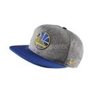 Nike 帽子 AroBill Pro Heater Dri-Fit 灰 藍 男女款 金州勇士隊 電繡 Golden State Warriors 【PUMP306】 869924-091