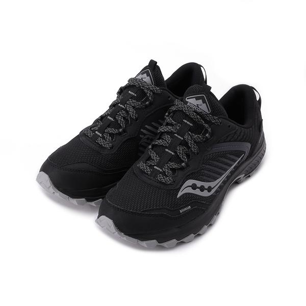 SAUCONY EXCURSION TR15 GORE-TEX 2E寬楦低海拔越野跑鞋 影子黑 SCS20673-1 男鞋