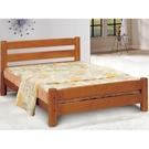 床架 床台 CV-185-2 巧菲柚木圓柱5尺雙人床 (不含床墊) 【大眾家居舘】