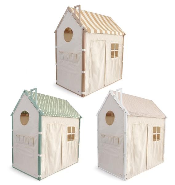 日本 HOPPL 兒童遊戲城堡屋(3色可選)