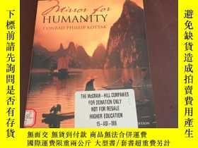 二手書博民逛書店Mirror罕見for Humanity a concise i