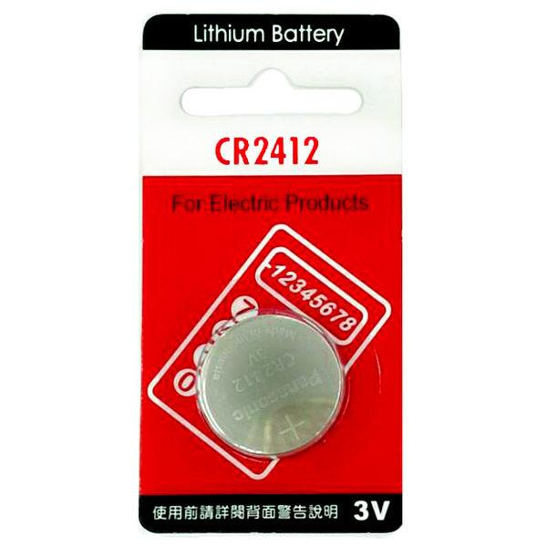 [ 中將3C ]  Panasonic CR2412 水銀電池 (單顆一入裝) CR-2412